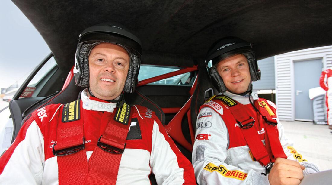 Audi R8, Matthias Ekström