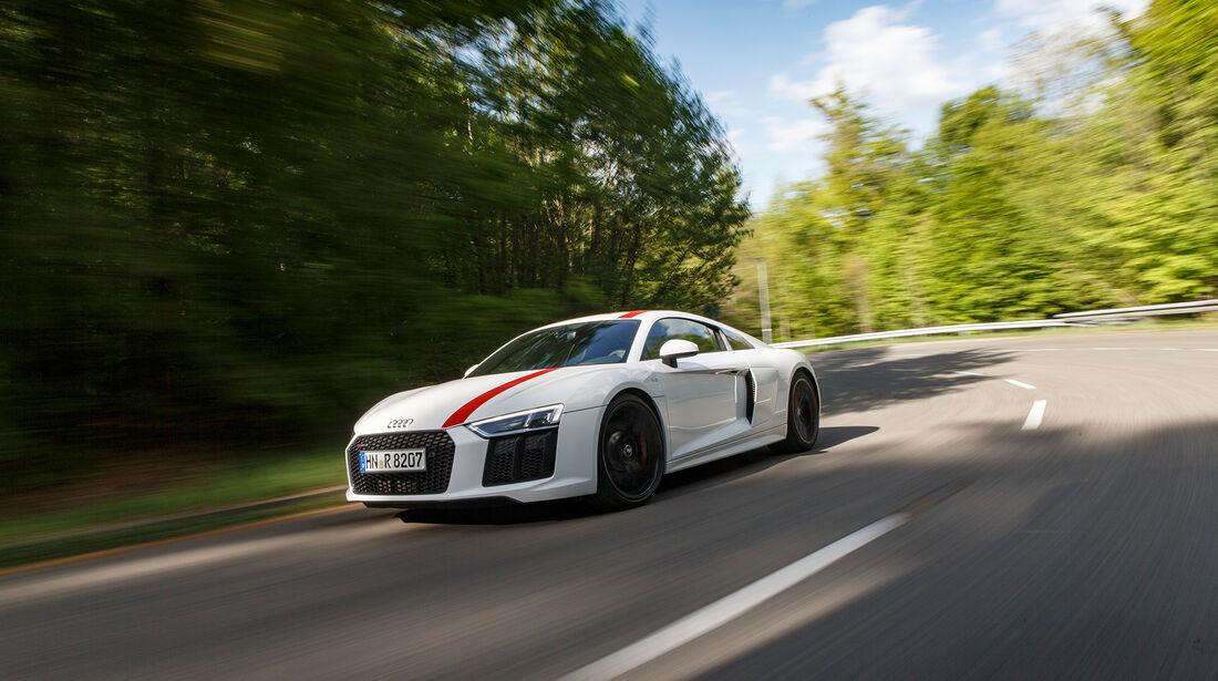 Audi R8 RWS, Exterieur