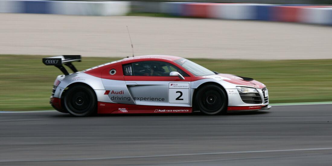Audi R8, Seitenansicht