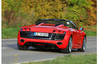 Audi R8 Spyder 5.2 FSI Quattro, Heckansicht