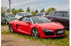 Audi R8 Spyder - Fan-Autos - 24h-Rennen Nürburgring 2015 - 14.5.2015