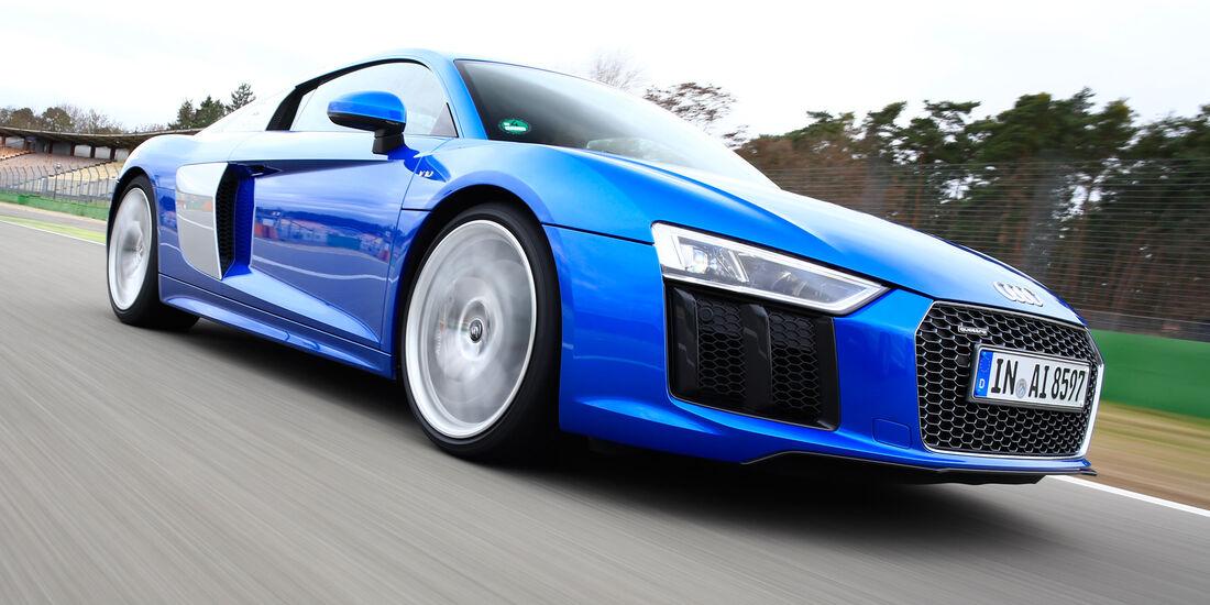 Audi R8 V10, Audi R8 5.2 FSI Quattro, Frontansicht