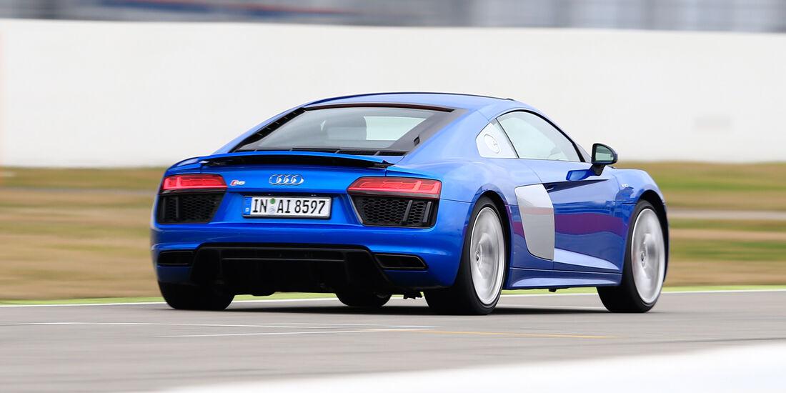 Audi R8 V10, Audi R8 5.2 FSI Quattro, Heckansicht