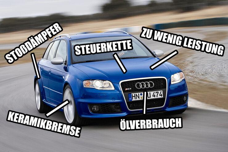 Gebrauchte Supertest Helden Schwachstellen Audi Rs 4 B7