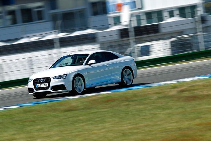Audi RS 5 Coupé, Seitenansicht