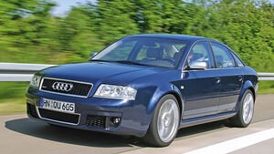 Audi RS 6, Seitenansicht