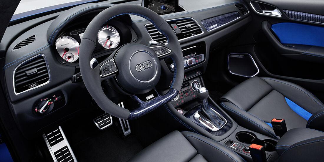 Audi RS Q3 Concept, Cockpit