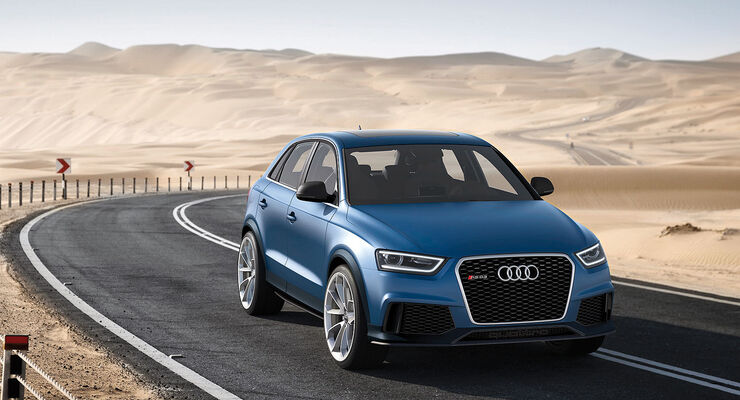 Audi RS Q3 Peking 2012