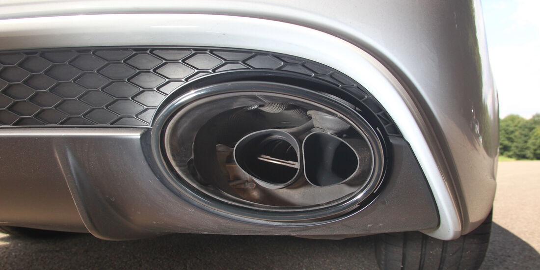 Audi RS4 Avant, Auspuff, Endrohr