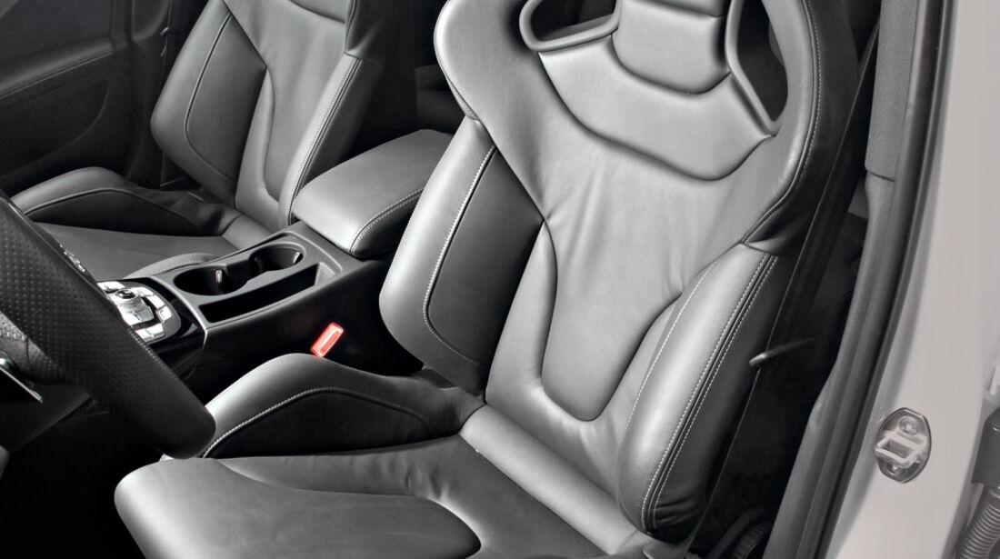 Audi RS4 Avant, Ledersitz, Fahrersitz