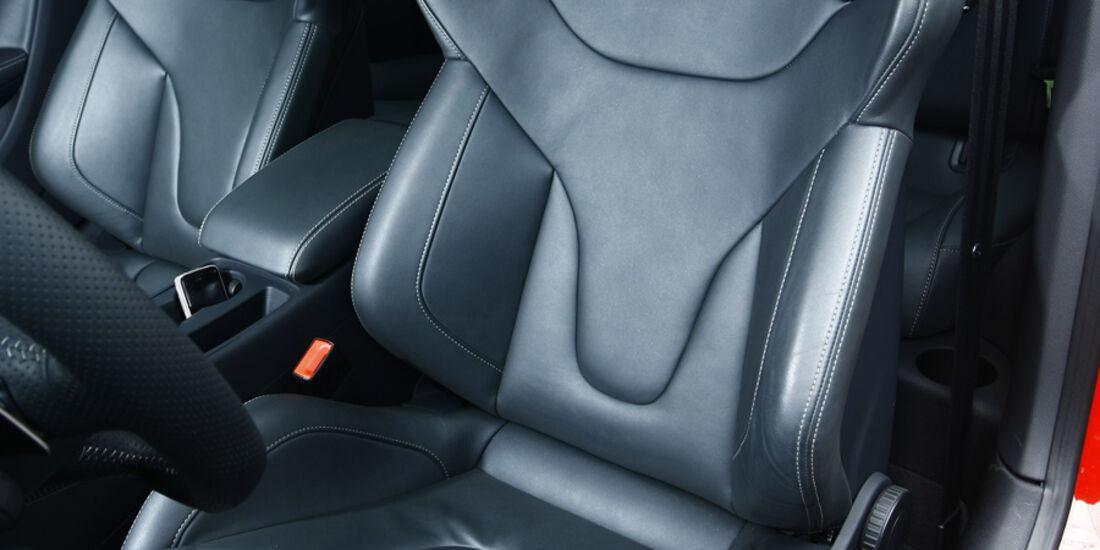 Audi RS5 Coupé Fahrersitz