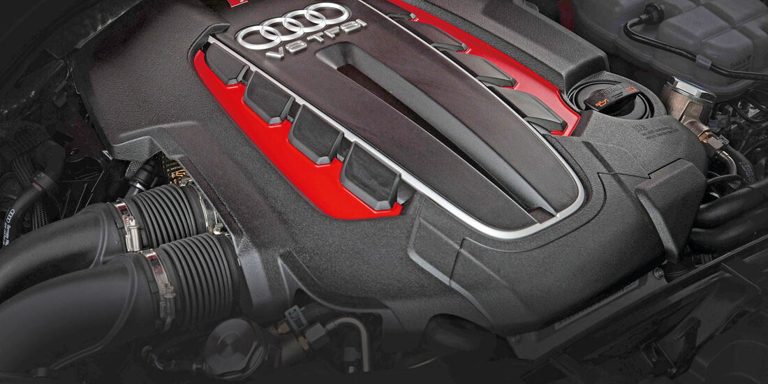 Audi RS6 Avant, Motor