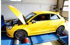 Audi S1, Lesitungsmessung, Prüfstand