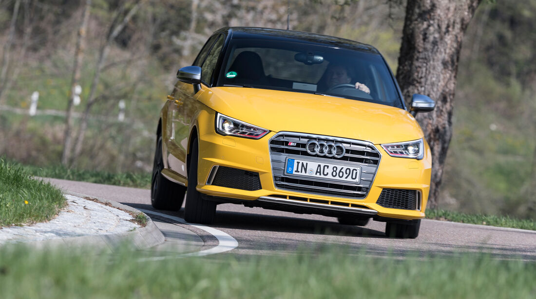 Audi S1 Sportback, Frontansicht