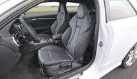 Audi S3 2.0 TFSI, Fahrersitz