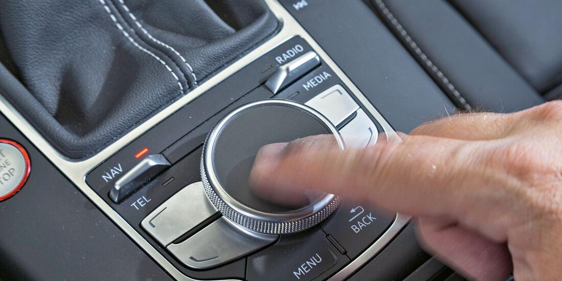 Audi S3. Bedienelement