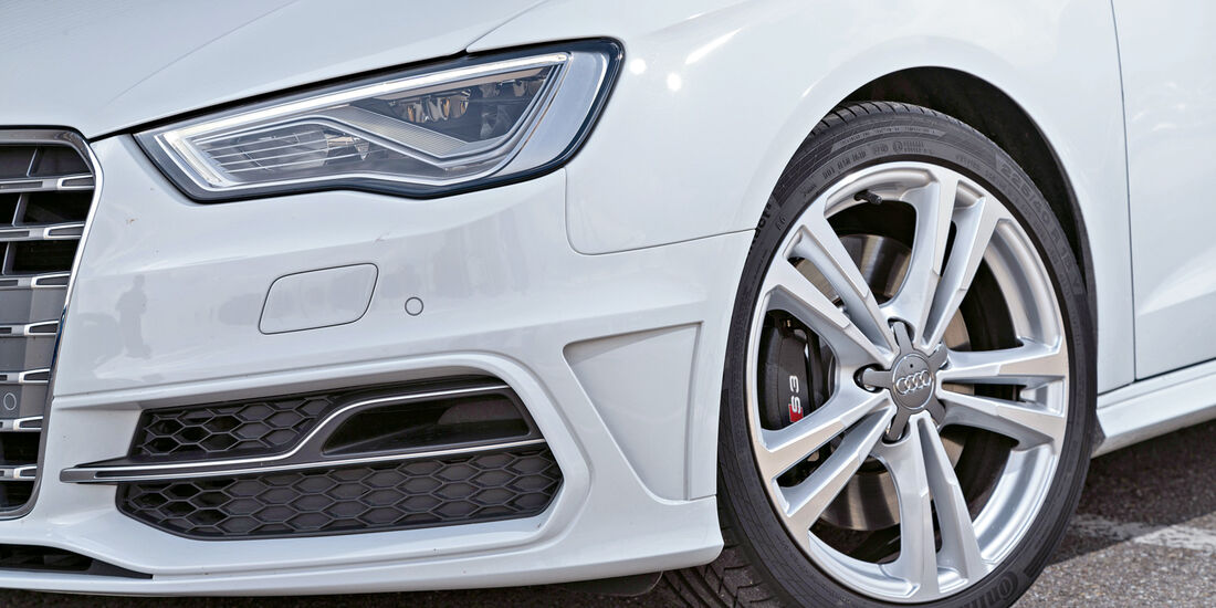 Audi S3. Rad, Felge, Bremse