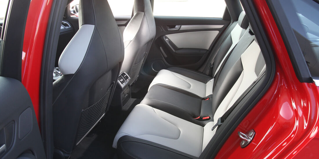 Audi S4 3.0 TFSI, Rückbank