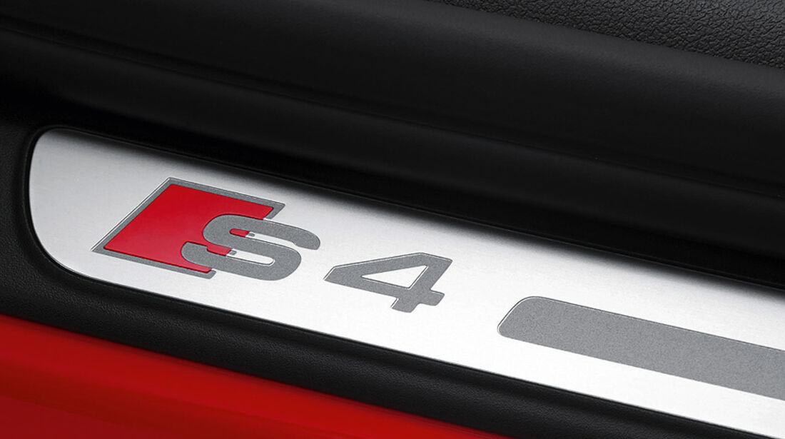 Audi S4 Modelljahr 2012, Innenraum