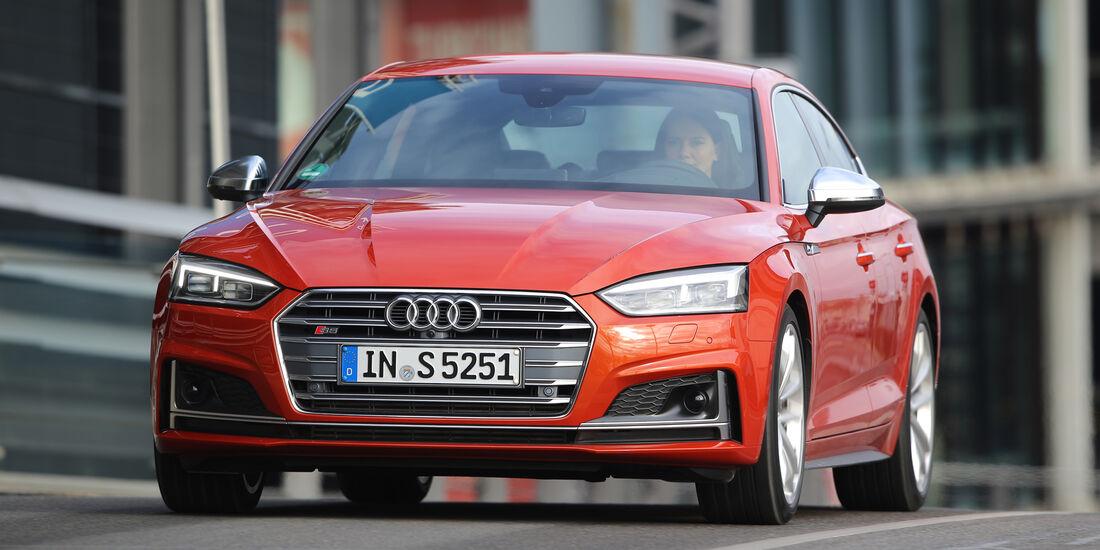Audi S5 Sportback 3.0 TFSI, Frontansicht