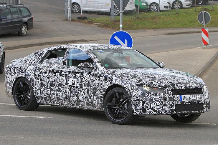 Audi S7 Erlkönig