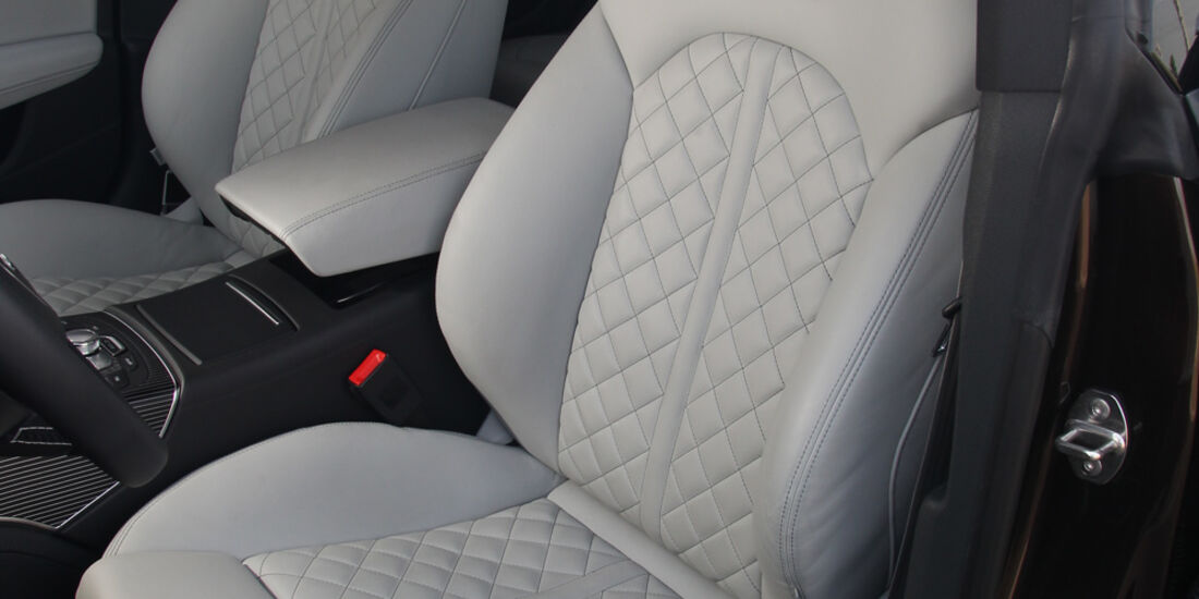 Audi S7 Sportback, Fahrersitz
