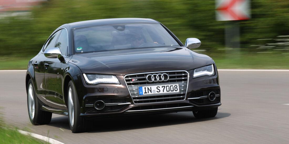 Audi S7 Sportback, Frontansicht