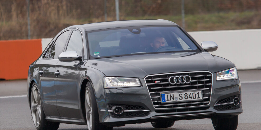 Audi S8, Frontansicht