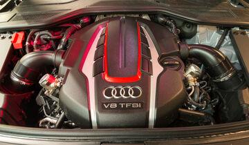 Audi S8 Plus 4.0 TFSI Quattro, Motor