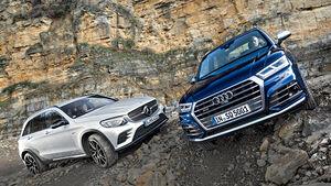 Audi SQ5, Mercedes-AMG GLC 43, Exterieur