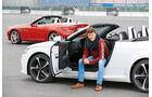 Audi TT 2.0 TDI Ultra, Mercedes SLC 250 d, Stefan Helmreich