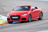 Audi TT 2.0 TFSI Quattro, Frontansicht