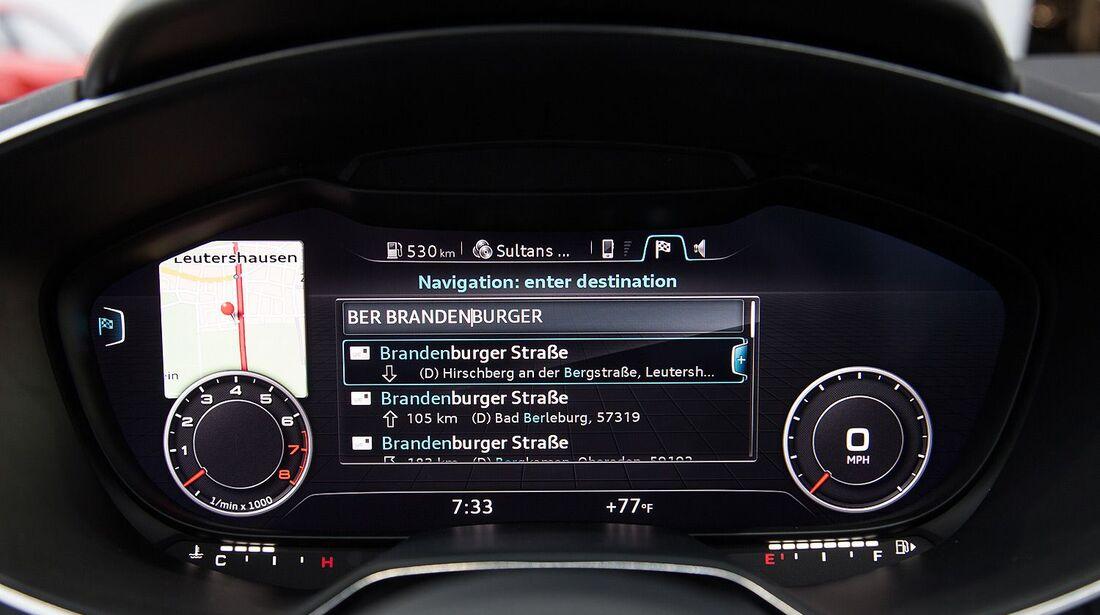 Audi TT Interieur Cockpit