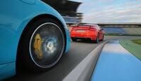 Audi TT RS Coupé, Porsche 718 Cayman S, Impression