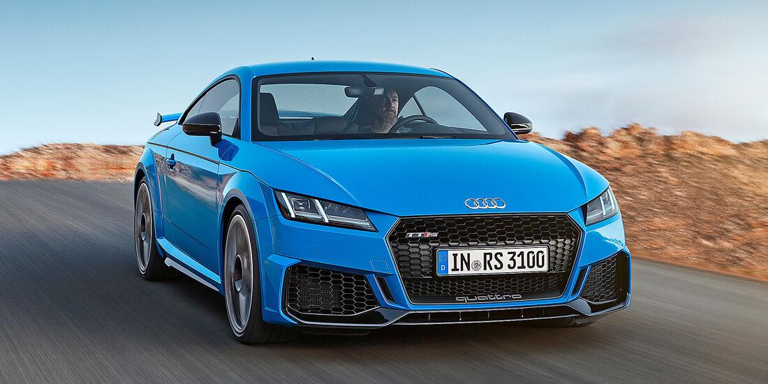 Audi TT RS Coupé - Serie - Coupes bis 75000 Euro - sport auto Award 2019