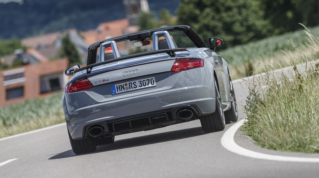 Audi TT RS Roadster Heck