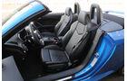 Audi TT RS Roadster, Sitze
