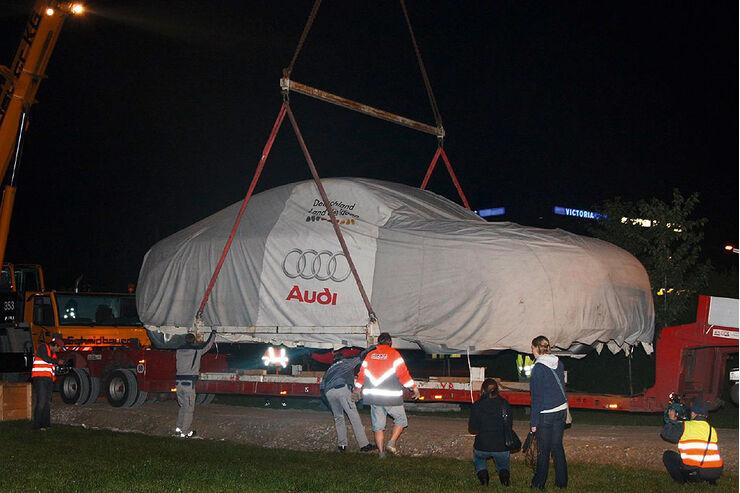 Audi TT Skulptur 100 Jahre Audi