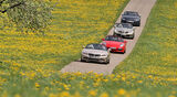 Audi TTS, BMW Z4, Mercedes SLK, Porsche Boxster
