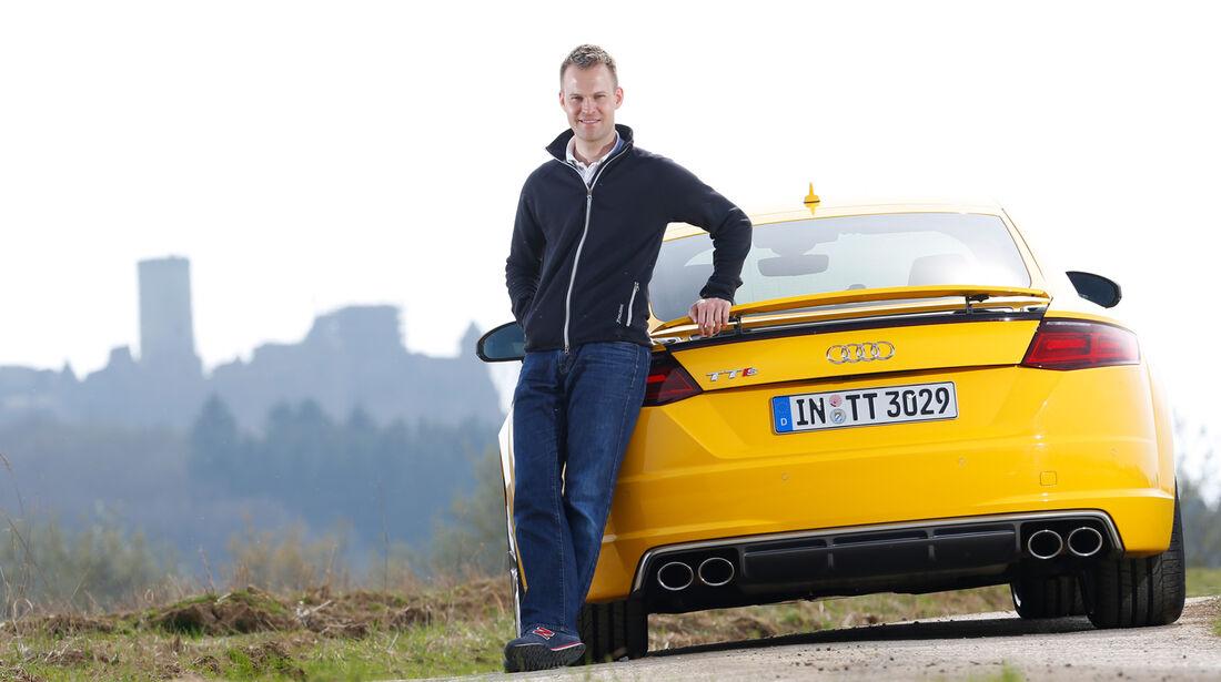 Audi TTS Coupé, Christian Gebhardt