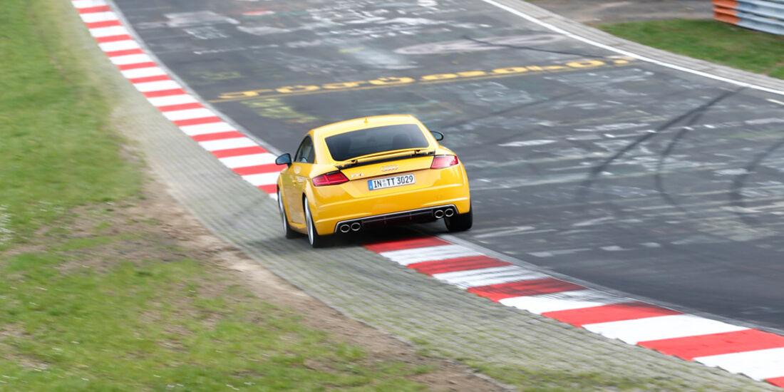Audi TTS Coupé, Heckansicht