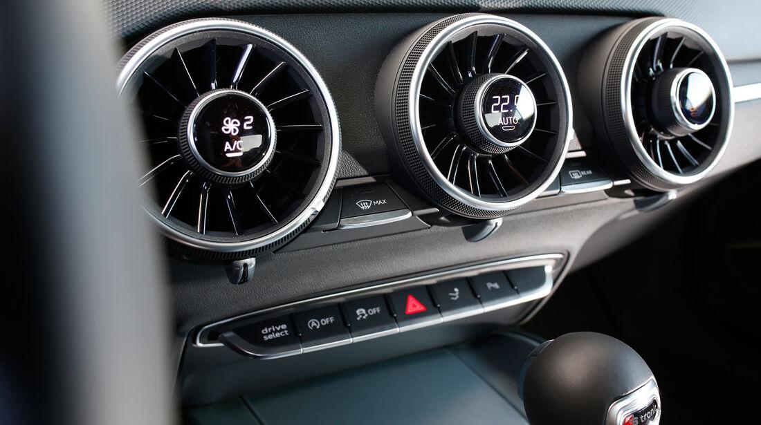 Audi TTS Coupé, Luftausströmer