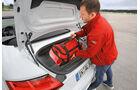 Audi TTS Roadster 2.0 TFSI, Kofferraum