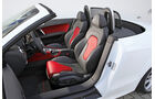 Audi TTS Roadster, Innenraum, Vordersitze