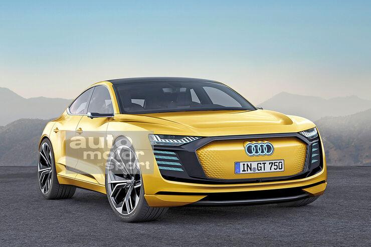 Elektrosportler Audi E Tron Gt 2022 Infos Daten