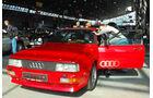 Audi quattro auf der Retro Classics 2012