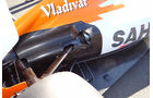 Auspuff Force India GP Australien 2012