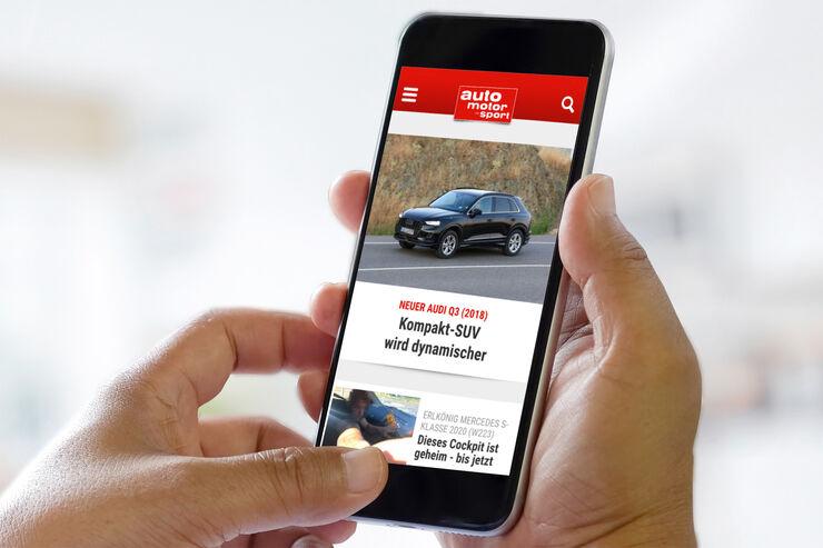 Auto Motor und Sport App