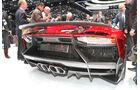 Auto-Salon Genf 2012 Lamborghini Aventador J Heckansicht