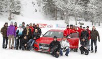 Auto & Ski 2011, Audi S4, Gruppenfoto